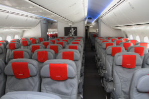 Dreamliners offer mood lighting, more oxygen, faster flights. Photo credit: Norwegian