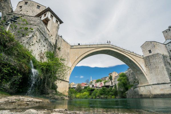 Stari Most, the bridge at Mostar