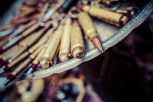 Sarajevo market wares - bullet shells transformed into pens