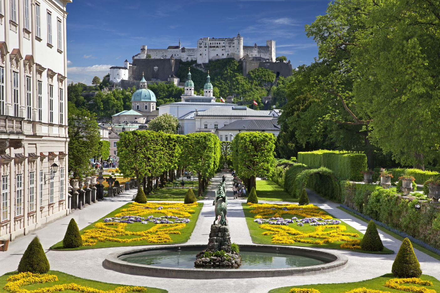 Salzburg Its Hills Are Alive With More Than Music