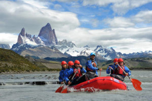 Rafting in Patagonia with Say Hueque