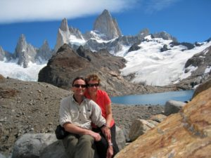 Hiking in Patagonia with Say Hueque.