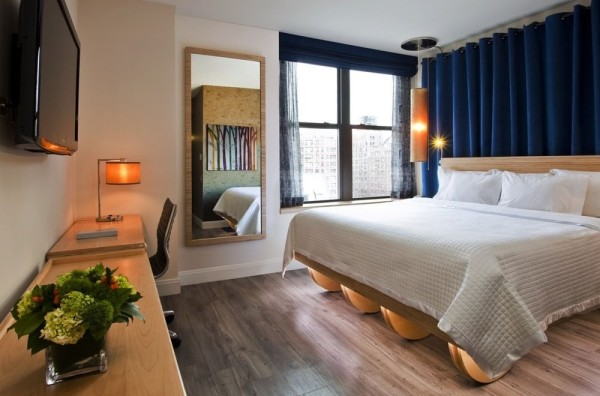 Guestroom at NYLO New York City