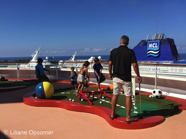 Sports Deck. Disney Dream