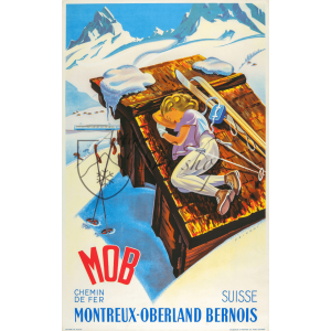 """Montreux-Oberland Bernoise: MOB,"" by Martin Peikart. Couresty of Russell Johnson."
