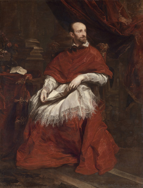 Cardinal Guido Bentivoglio, 1623. Courtesy of the Frick Collection.