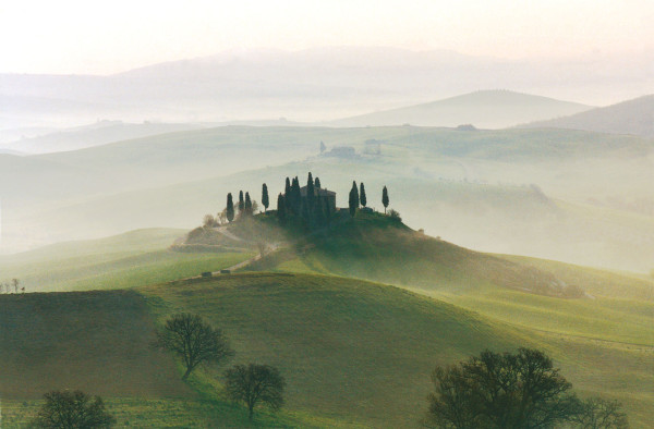 The hotel is located in Tuscany's Val D'Orcia region, a UNESCO World Heritage site. Photo Credit: Hotel Adler Thermae