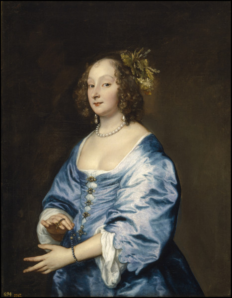 Anthony van Dyck (1599–1641) Mary, Lady van Dyck, née Ruthven, ca. 1640 Oil on canvas Museo Nacional del Prado, Madrid. Courtesy of the Frick Collection.