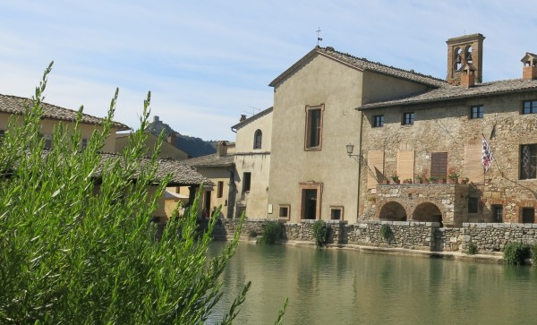 Bagno Vignoni's waters have drawn visitors for thousands of years.