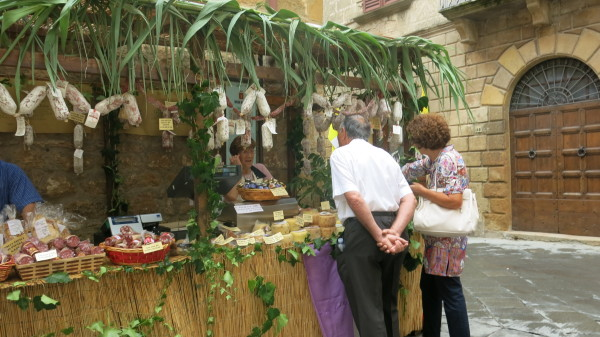 Pienza celebrates its great cheeses with a September festival. Photo credit: Keroack Photography