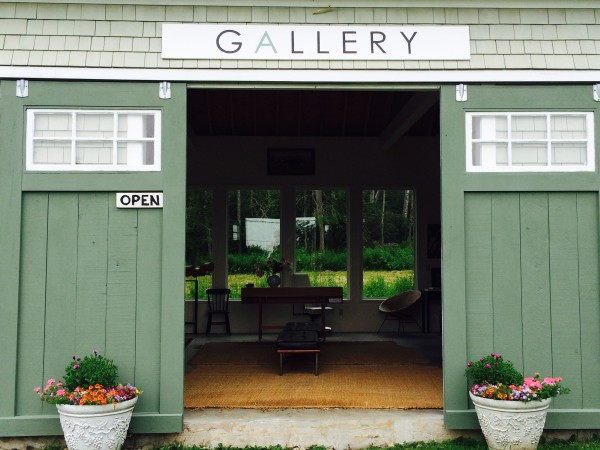 Gallery in Castine. Photo Gayle Potter.