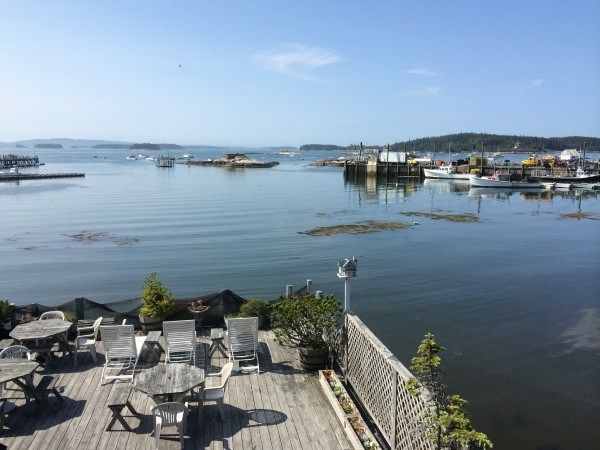 Inn on the Harbor, post-fog. Stonington, Maine