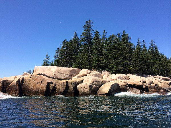 Glorious day for a boat ride along the Maine coast.