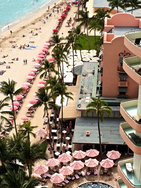 Royal Hawaiian from above