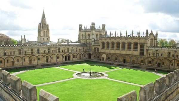 Christ Church's Tom Quad