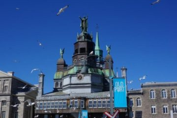 Our Lady of Perpetual Help, Notre-Dame-de-Bon-Secours-Chapel in Montreal's Old Port. Credit Bart Beeson