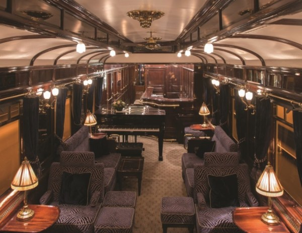 For the second straight year the Venice Simplon-Orient-Express train has made dining upgrades, adding this meticulously restored bar car – as well as new service to Berlin.