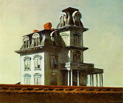 """House by The Railroad,"" 1925 by Edward Hopper"