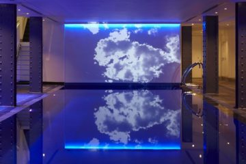 The basement pool at One Aldwych, London