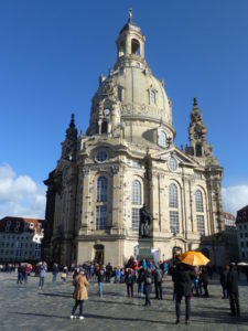 Dresden's landmark Frauenkirche PHOTO Monique Burns