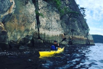 Sea kayaking Saguenay