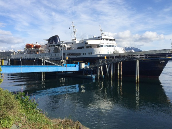The Malaspina is one of the largest vessels in the Alaska Marine Highway System.