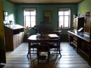 The poet's study at the Goethe National Museum. Photo Monique Burns