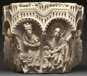 The Saint Matthew Capital. Terra Sancta Museum, Basilica of the Annunciation, Nazareth Image: © Marie-Armelle Beaulieu /Custodia Terræ Sanctæ