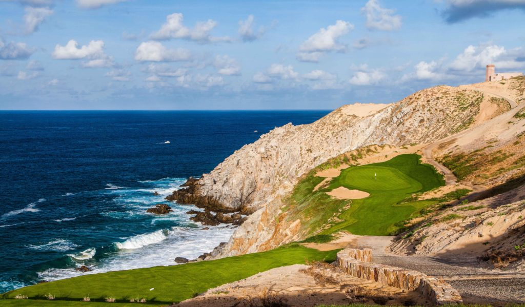The 6th hole at Quivira