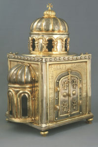 Reliquary of Saint Anastasios the Persian Holy Land, 969–70. Domkapitel and Domschatzkammer, Aachen Image: © Domkapitel Aachen (photograph by Ann Münchow)