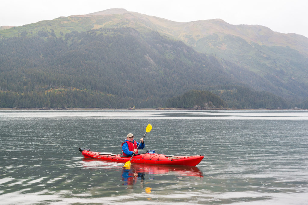 Kayaking adventure in Alaska. Courtesy Juno Kim @ ATTA