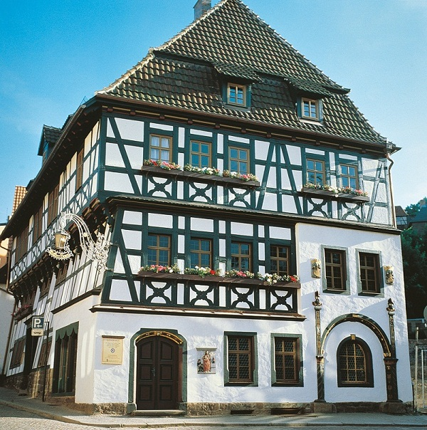 The Luther House in Eisenach. Photo Barbara Neumann.Courtesy German National Tourist Board GNTB