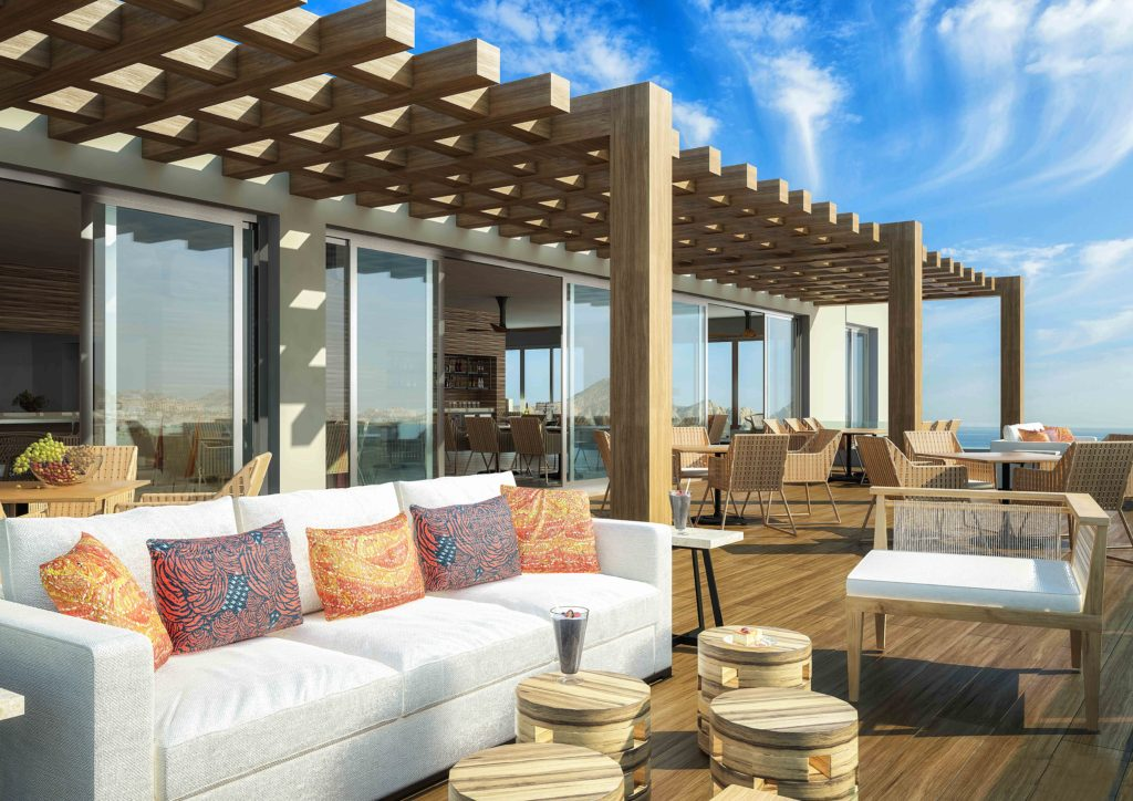 Terrace at VIP Towers Lounge