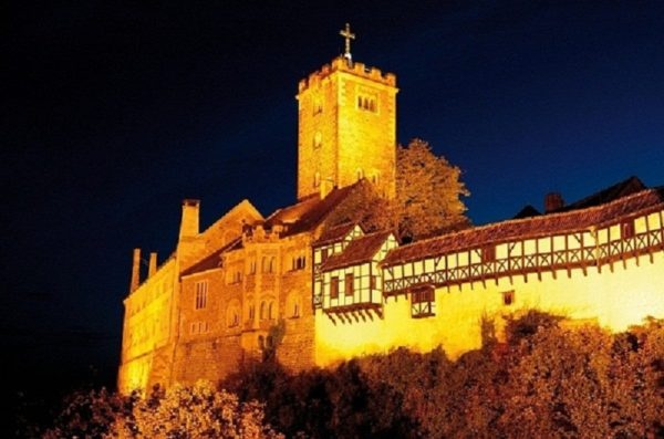 Wartburg Castle, a UNESCO World Heritage Site. Photo Foto Design Ernst Wrba. Courtesy German National Tourist-Board GNTB.