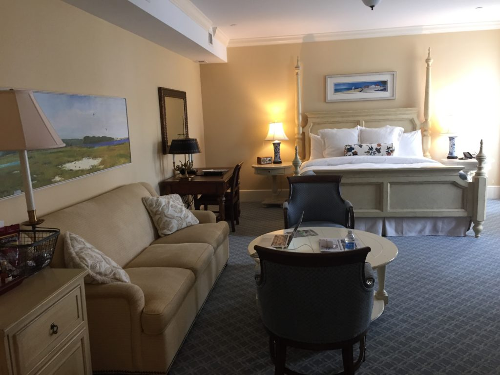 Guestroom at The Delamar Southport, CT