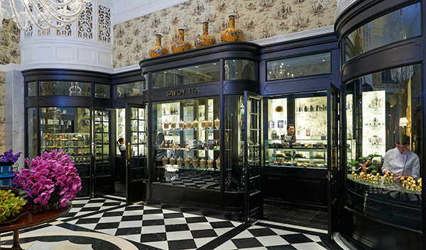 Savoy Tea Shop, The Savoy