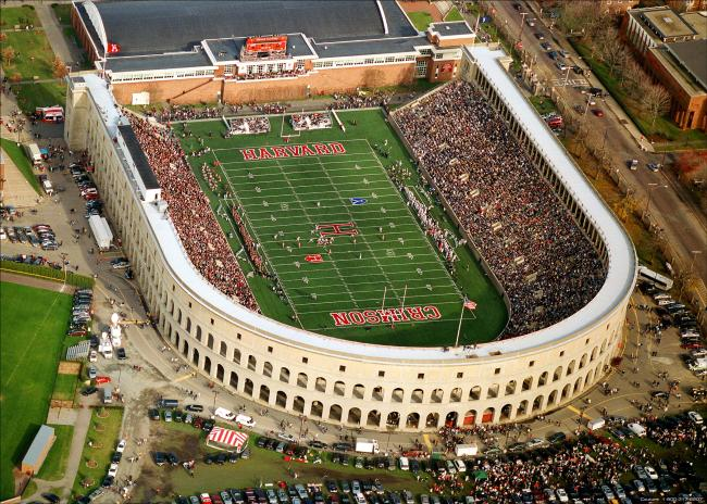 Harvard Stadium. Courtesy Harvard Sports Dept.