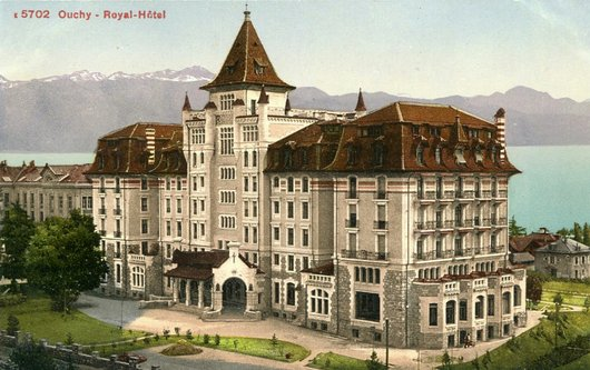 The early years at The Hotel Royal Savoy