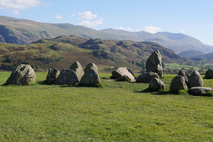 Castlerigg Stone Circle, a Neolithic circle admired by generations of poets and painters. © Sara Hudston