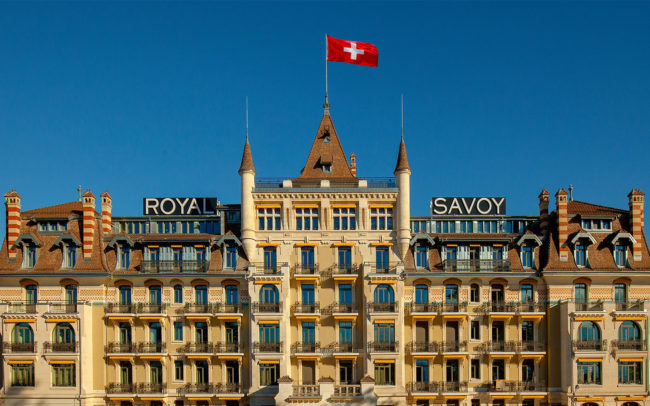 Hotel Royal Savoy, Lausanne, Switzerland