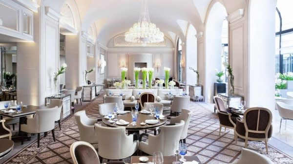 Four Seasons George V Europes First Hotel With 3 Michelin Starred